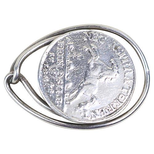 Hermès Antique-Coin Money Clip