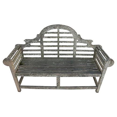 Luytens English Teak Garden Bench