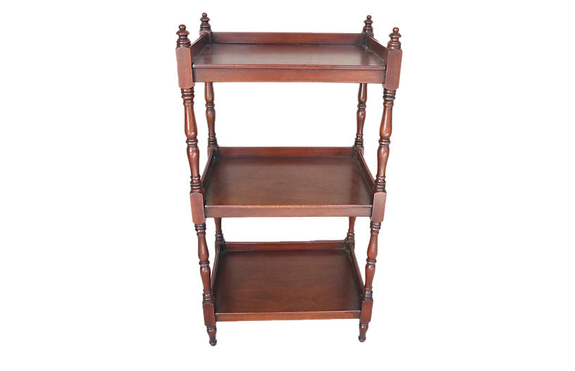 Willam IV English Mahogany Etagere