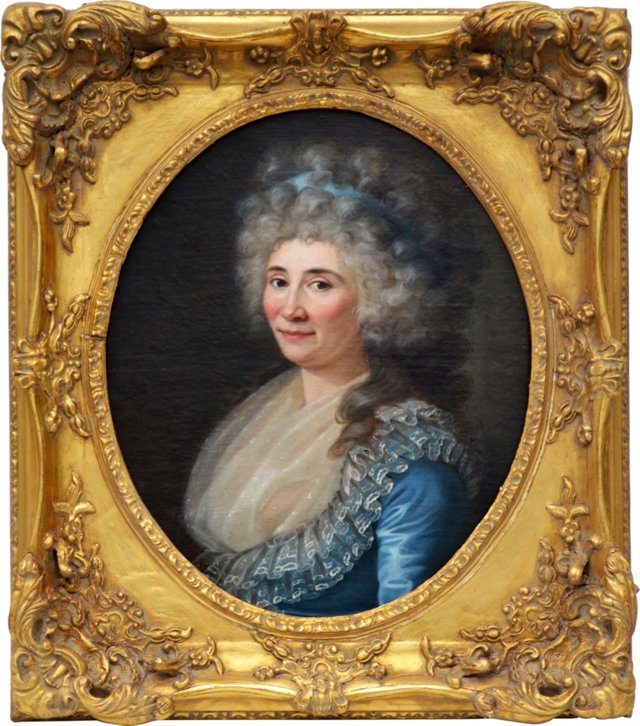 French School Portrait of a Woman
