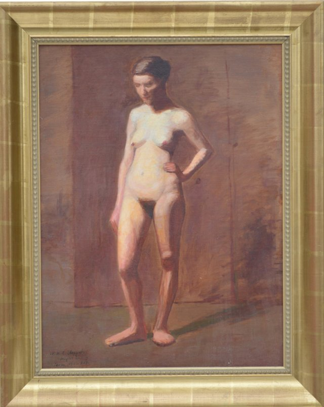 Standing Nude, William H. C. Sheppard