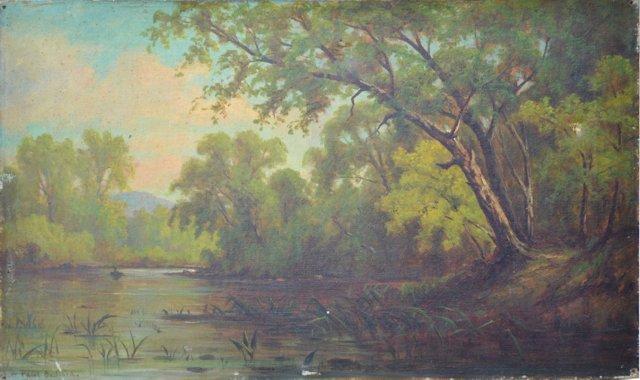 American River Landscape, C. 1880