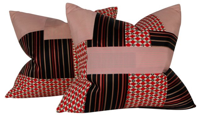 Men's Suiting Pillows, Pair