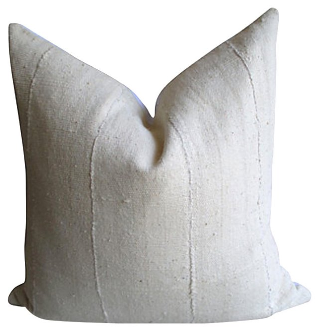 African Cotton   & Linen Pillow