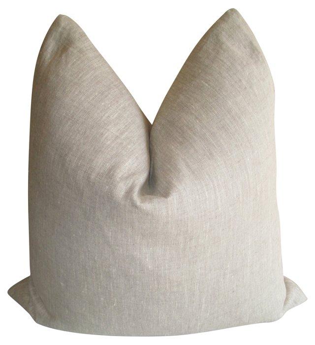 European  Flax   Linen Pillow