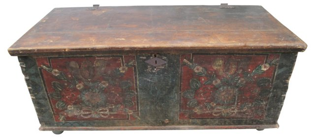 Antique European Chest