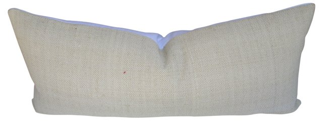 European Handwoven Linen Body Pillow