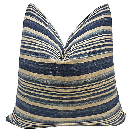Mali Indigo Blues Pillow