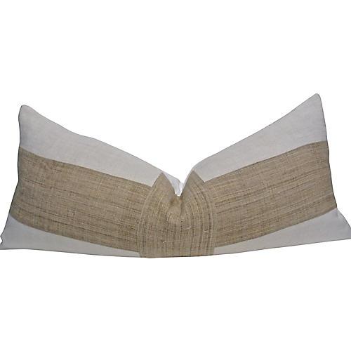 European Linen & Hemp Body Pillow