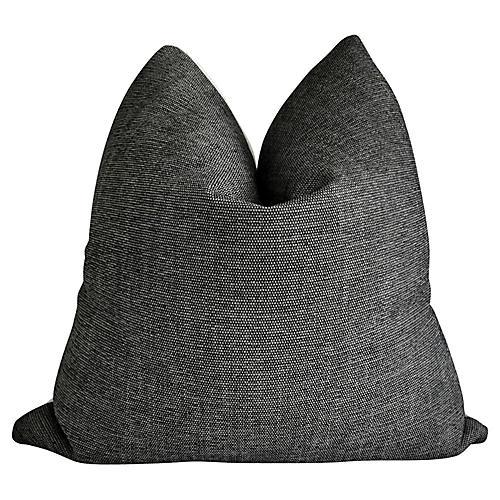 Paris Anthracite & Luxe Loop Pillow