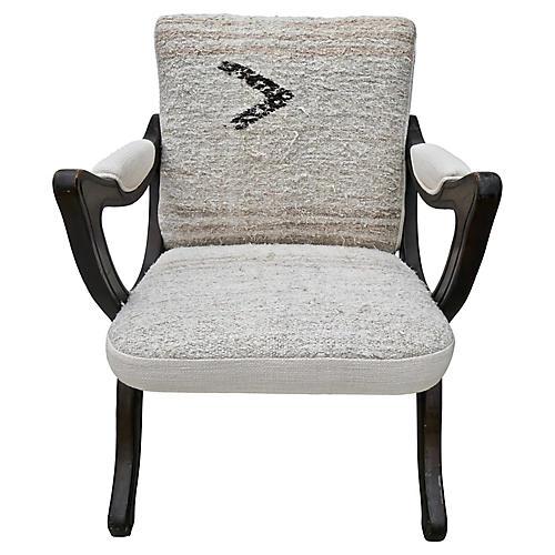 Vintage X-Frame Chair