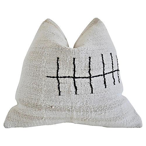 Berber Handwoven Natural Kilim Pillow $2