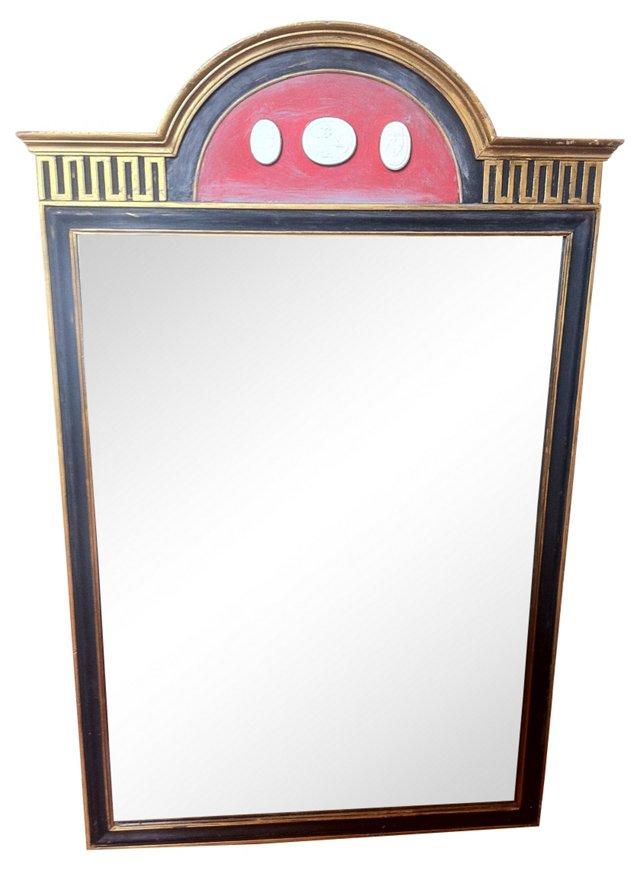 Neoclassical-Style Mirror w/ Intaglios