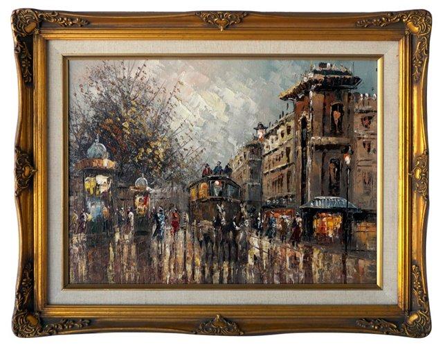 Paris         Streetscape