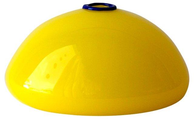 Yellow Art Glass