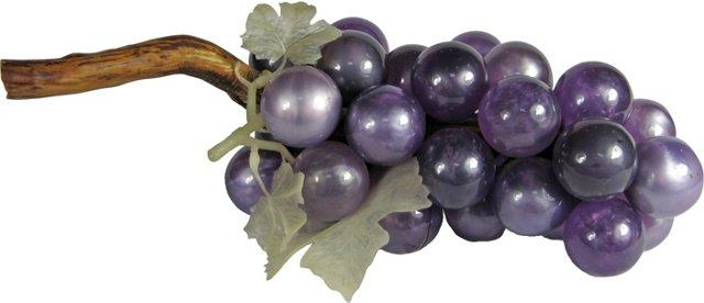 Pearlized Lavender Lucite Grapes