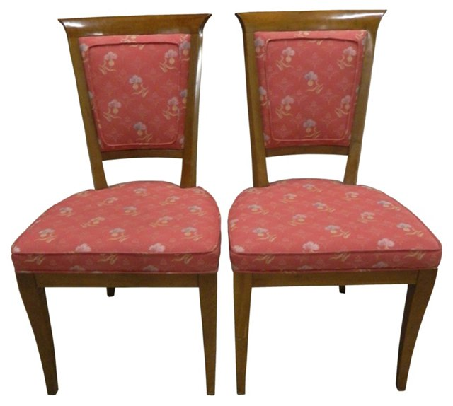 1960s Side  Chairs, Pair