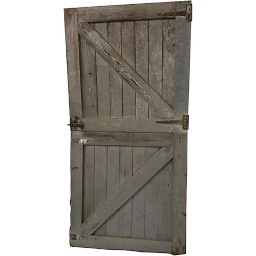Race Track Horse Stall Dutch Doors, Pair