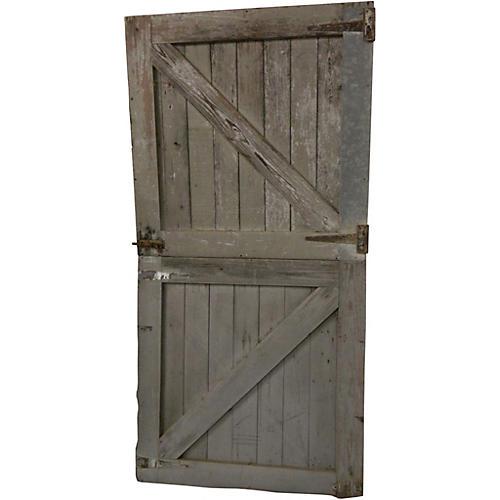 Race Track Horse Stall Dutch Doors, Pair