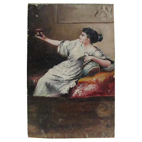 French Figural Painting, C.1790