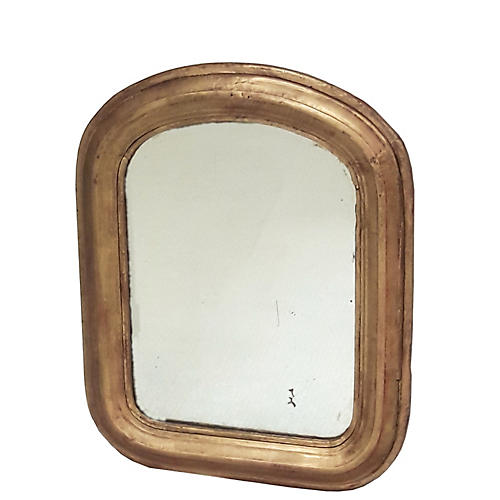 Petite French Louis Philippe Mirror