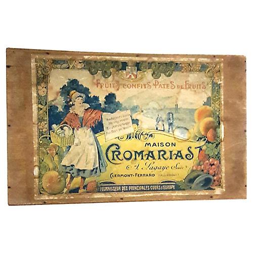 Antique French Bonbon Box