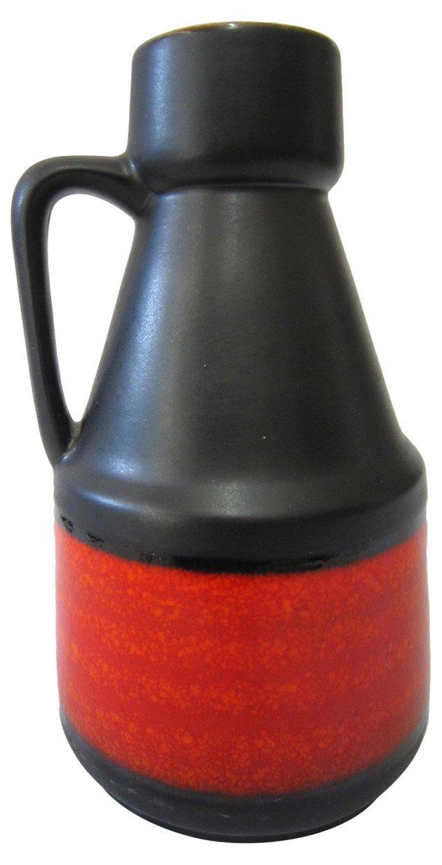 German Art Pottery Ewer