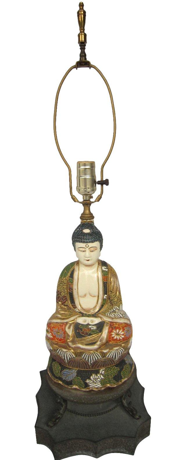 Satsuma Buddha Lamp
