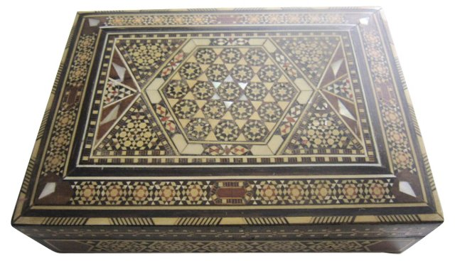 Lebanese Inlaid Box