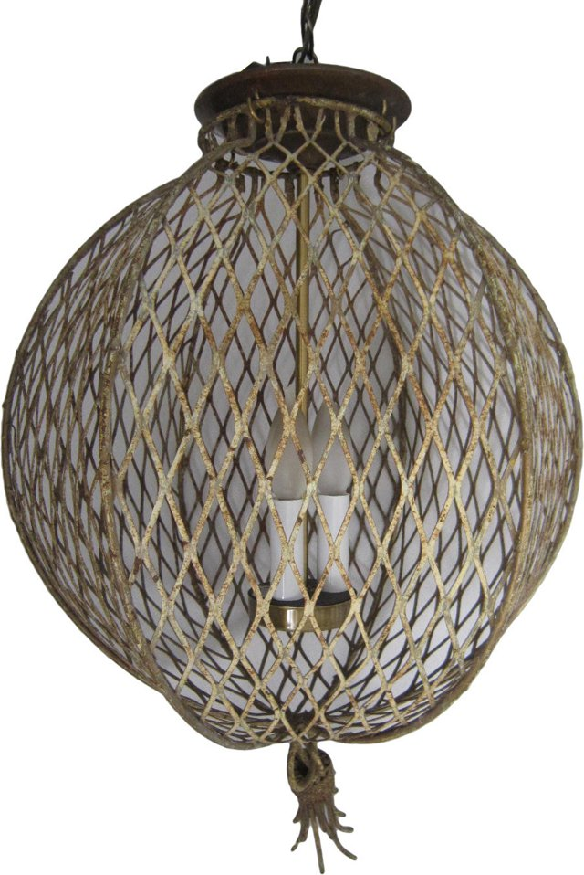 Italian Cage Pendant Lamp