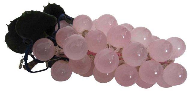 Rose Quartz Grape Cluster