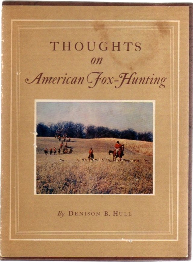 Thoughts on American Fox Hunting, Ltd Ed