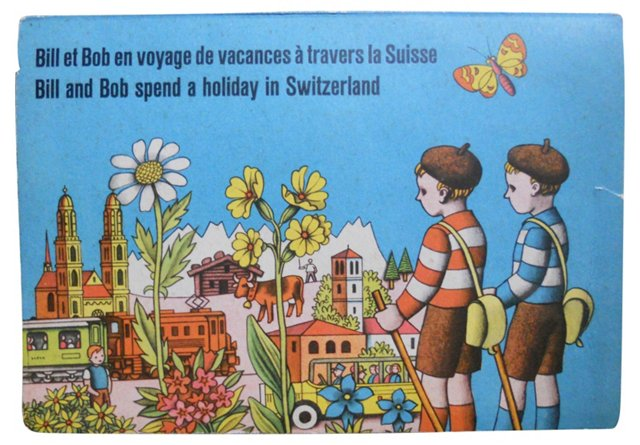 Swiss Holiday Pop-Up Book
