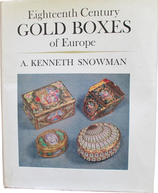 18th Century Gold Boxes of Europe