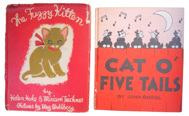 Storybooks About Cats, Pair
