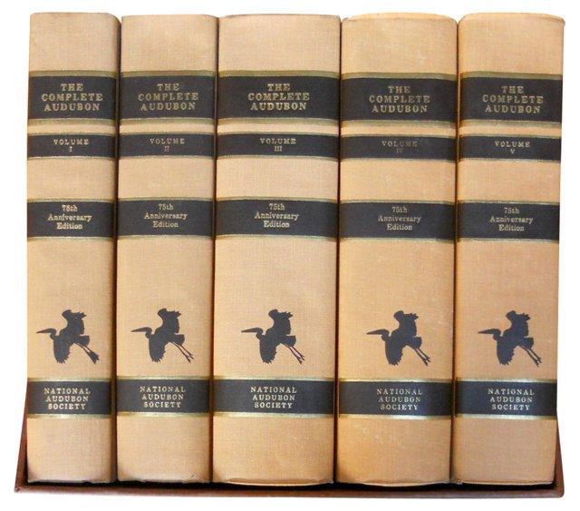 The Complete Audubon, S/5