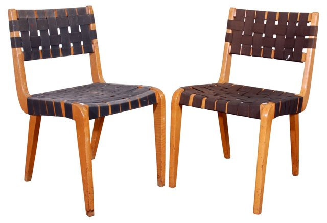 Ralph Rapson for Knoll Side Chairs, Pair