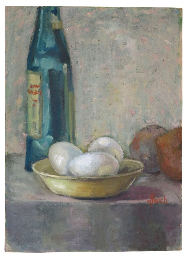 DJ Koch Tabletop Still Life Oil Painting