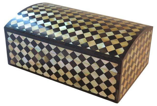 1970s Harlequin Maitland Smith Box