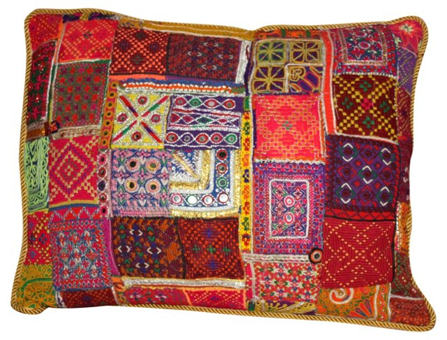 Ghazni Patchwork  Pillow