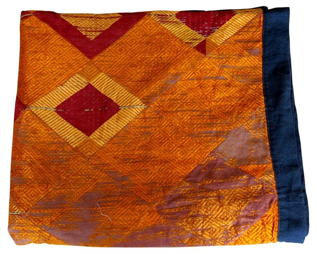 Indian Embroidered Shawl