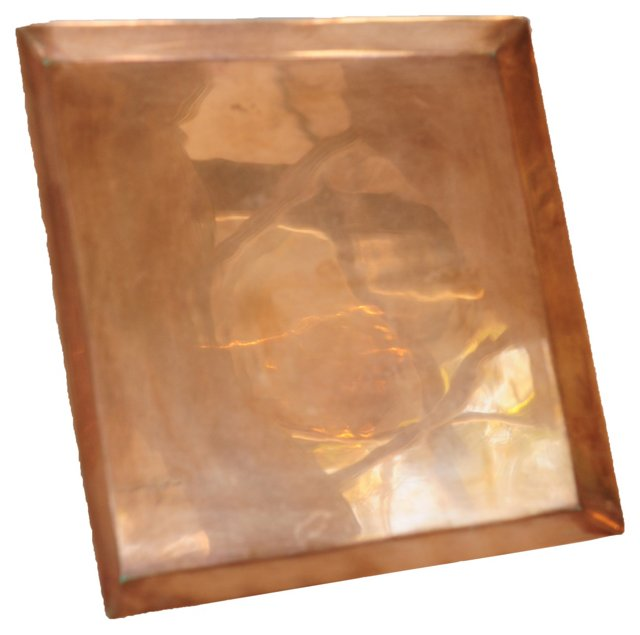 Square Copper Tray