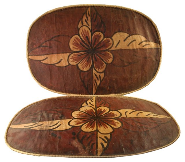Papel Amate Table Mats, Pair