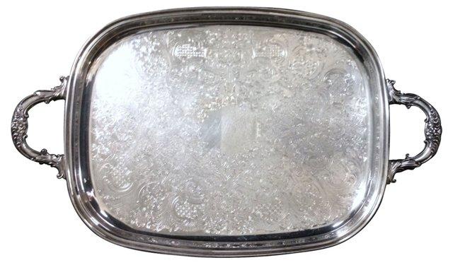 Silver Butler's Tray