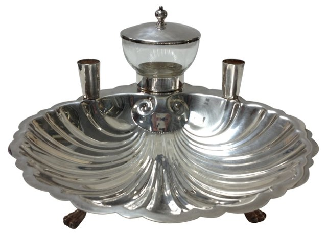 Silverplate Hors d'Oeuvre Service