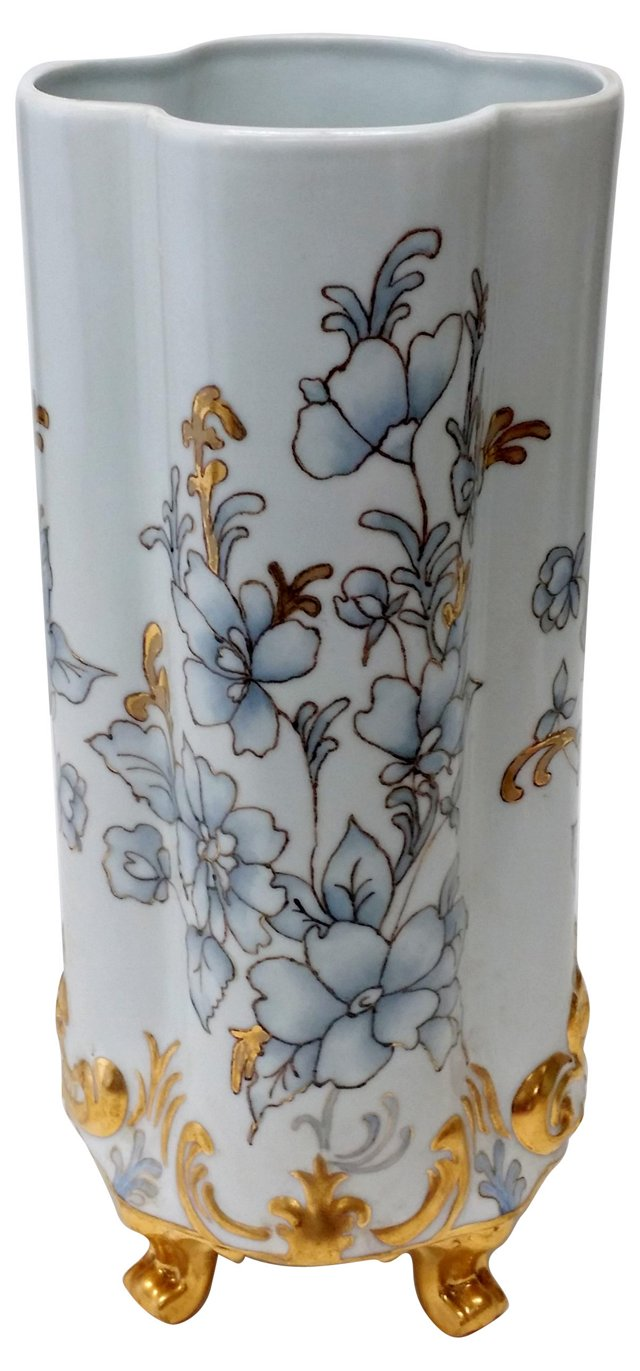Hand-Painted Tabletop French Jardinière