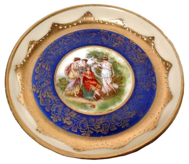 German Porcelain Pin Dish