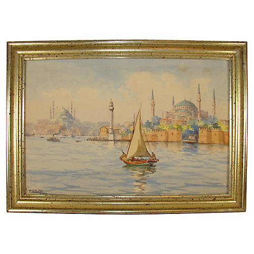 Constantinople Seascape