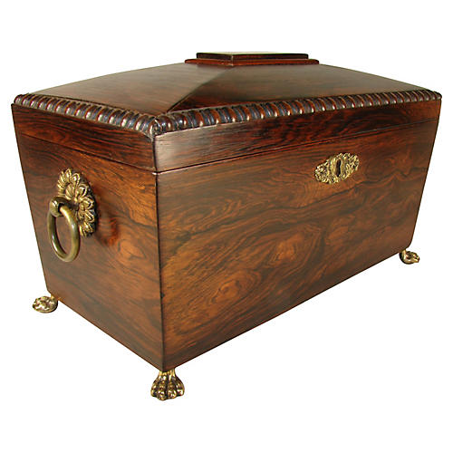 Regency Rosewood Box