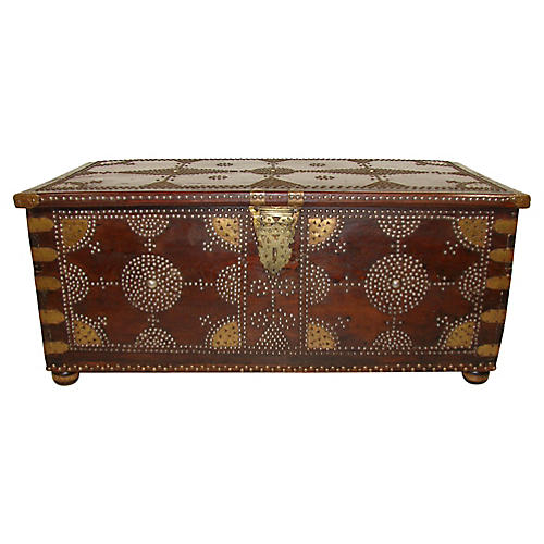 19th-C. Spanish Trunk